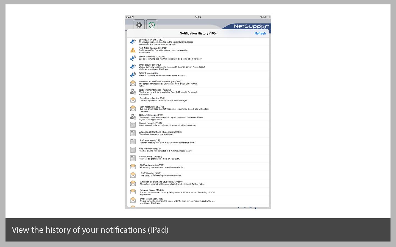View History (on an iPad)
